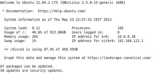 Caratteristiche Sistema Server