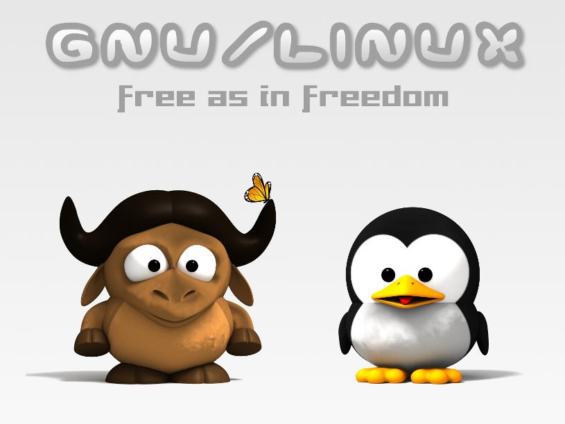 Gnu Linux - Freedom